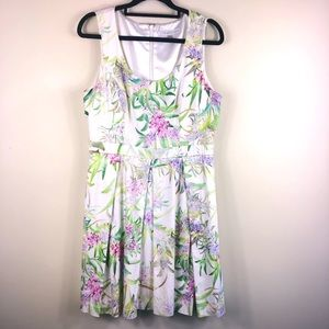 Forever new floral party dress size 12